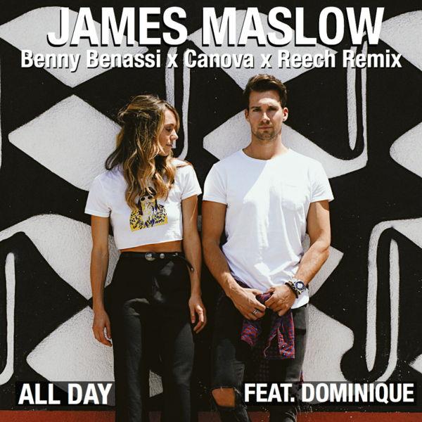 James Maslow feat. Dominique (Benny Benassi x Canova x Reech Remix) Music Widget Retail Links Purchase Order Pre-save Pre-sale Stream