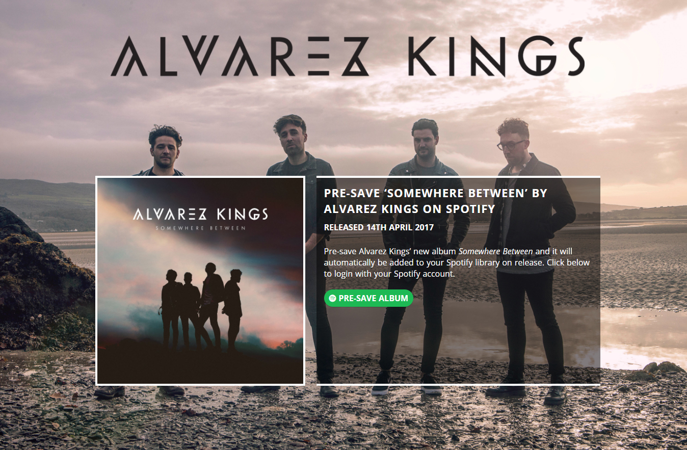 Alvarez Kings Pre-Save for Spotify, Alvarez Kings Presave For Spotify, Alvarez Kings Spotify Pre-Save